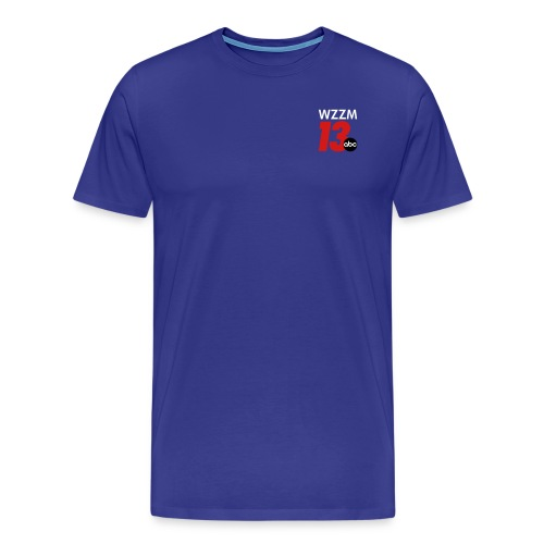 Blue Men's Shirt - Men's Premium T-Shirt