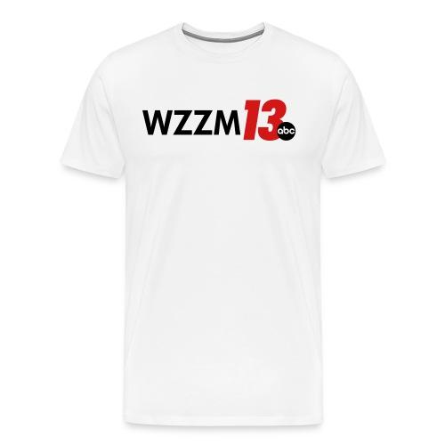 White Men's Shirt - Men's Premium T-Shirt