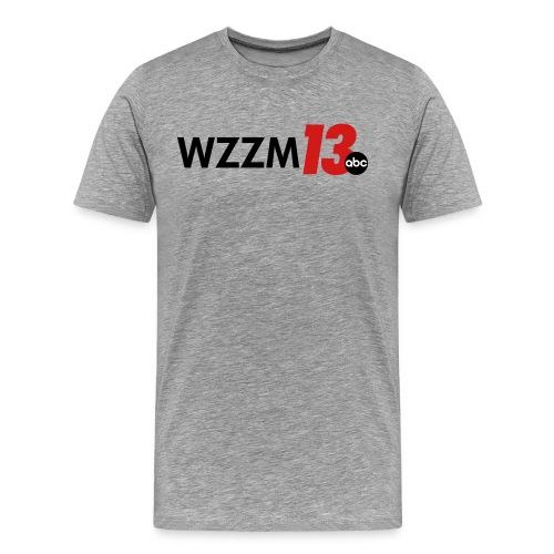 Grey Men's Shirt - Men's Premium T-Shirt