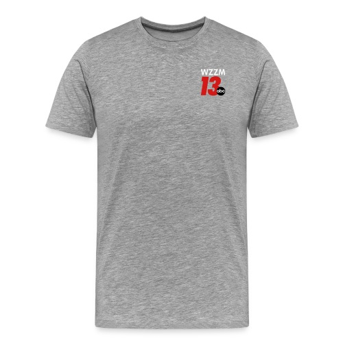 Grey Men's Shirt - Men's Premium T-Shirt