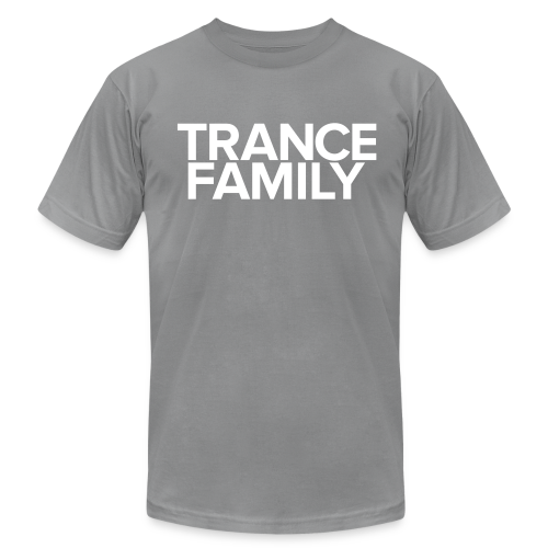 Trance Family (White Text) - Male - Men's Fine Jersey T-Shirt