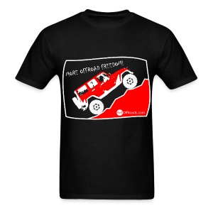 More Offroad Freedom! - Men's T-Shirt