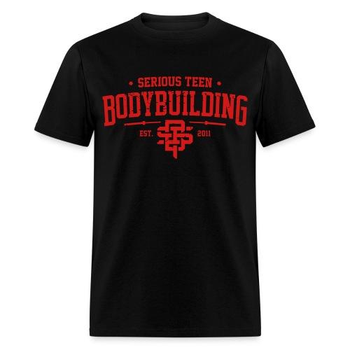Serious Teen Bodybuilding - Men's T-Shirt