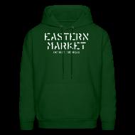 Hoodies ~ Men's Hoodie ~ Eastern Market