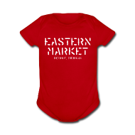 Baby & Toddler Shirts ~ Baby Short Sleeve One Piece ~ Eastern Market