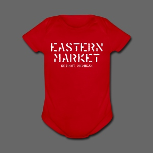 Eastern Market - Short Sleeve Baby Bodysuit
