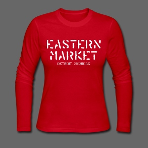 Eastern Market - Women's Long Sleeve Jersey T-Shirt