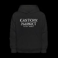 Sweatshirts ~ Kids' Hoodie ~ Eastern Market