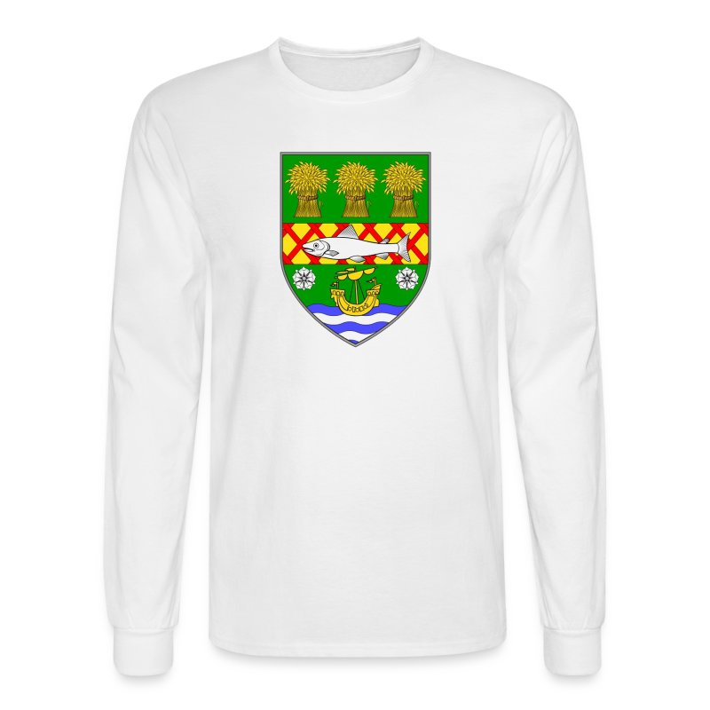 County down ireland flag coat of arms t shirt spreadshirt for Shirts for men with long arms