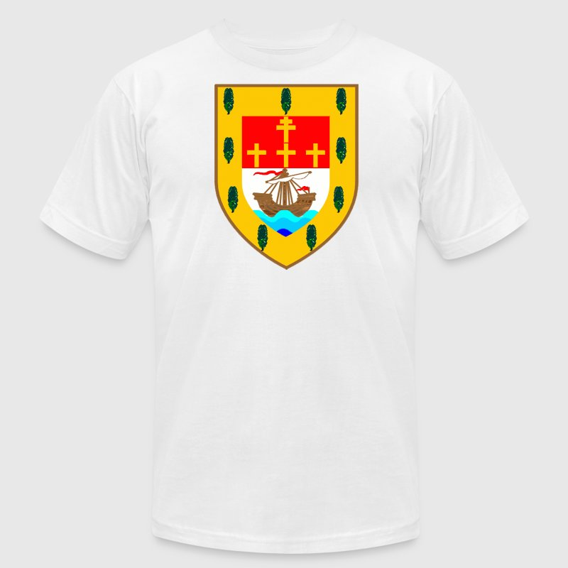 County Mayo Ireland Coat of Arms T-Shirts - Men's T-Shirt by American Apparel