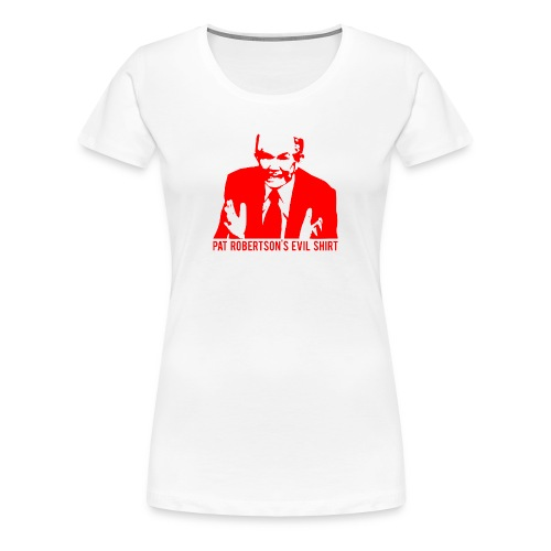 The Demon | Women's Red Print - Women's Premium T-Shirt
