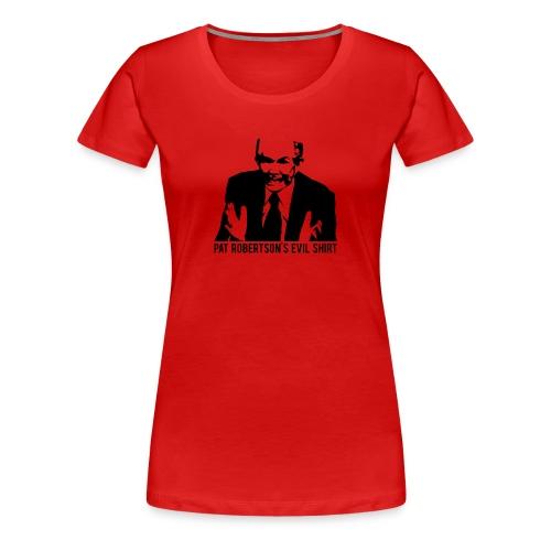 The Demon | Women's Black Print - Women's Premium T-Shirt