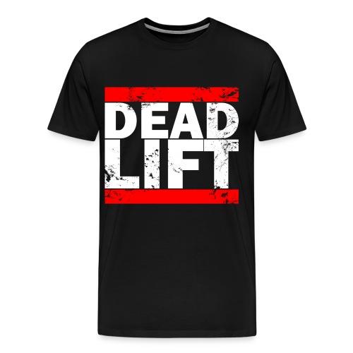 Deadlift Logo Tee  - Men's Premium T-Shirt