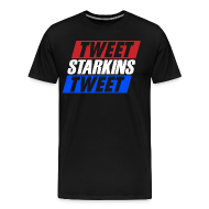T-Shirts ~ Men's Premium T-Shirt ~ Tweet Starkins Tweet