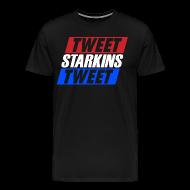 T-Shirts ~ Men's Premium T-Shirt ~ Tweet Starkins Tweet