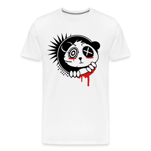 Grunge Panda - Men's Premium T-Shirt