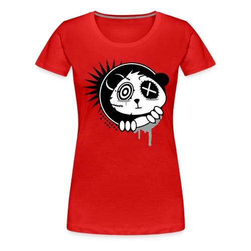 Grunge Panda - Women's Premium T-Shirt