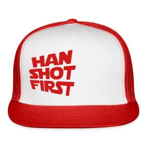 Han Shot First - Trucker Cap