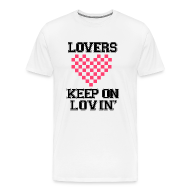 T-Shirts ~ Men's Premium T-Shirt ~ Keep On Lovin'
