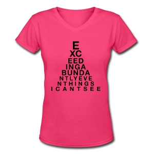 Exceeding Abundantly II - Women's V-Neck T-Shirt