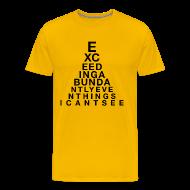 T-Shirts ~ Men's Premium T-Shirt ~ Exceeding Abundantly II