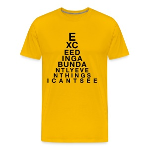 Exceeding Abundantly II - Men's Premium T-Shirt