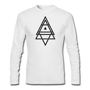 Men's Iced Core Long Sleeve T-Shirt - Men's Long Sleeve T-Shirt by Next Level