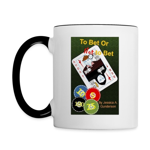 *NEW* To Bet or Not To Bet White Mug - Contrast Coffee Mug