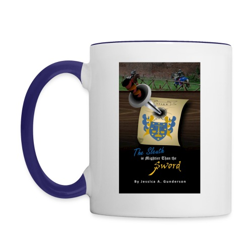*NEW* The Sleuth is Mightier Than the Sword White Mug - Contrast Coffee Mug