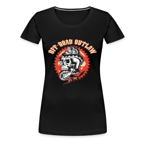 Women's Premium Off-Road Outlaw Shirt - Women's Premium T-Shirt
