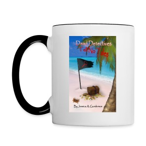 *NEW* Dead Detectives Tell No Tales White Mug - Contrast Coffee Mug