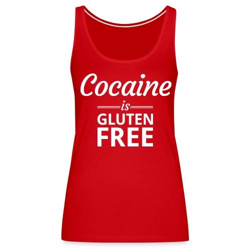 Cocaine is Gluten Free - Womens Tank Top - Women's Premium Tank Top