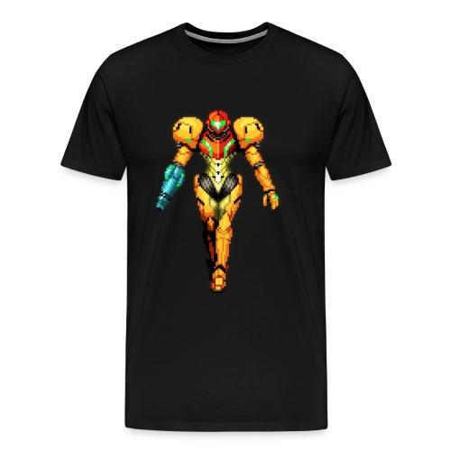 Metroid pixel aart - Men's Premium T-Shirt