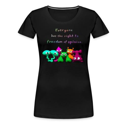 freedom of opinion - Women's Premium T-Shirt