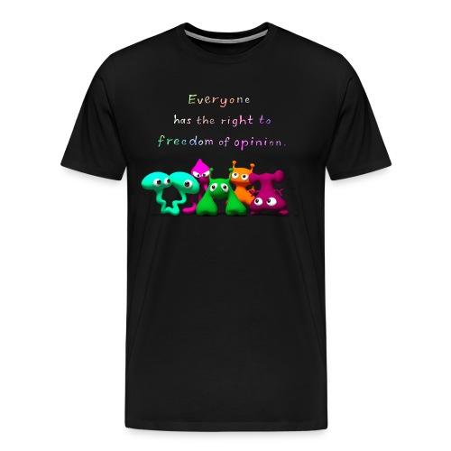 freedom of opinion - Men's Premium T-Shirt