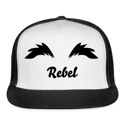 Rebel's Custom Eyebrow Hat - Trucker Cap
