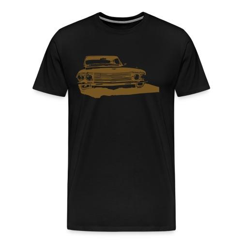 Flat Black Cadillac (album cover) Hurley Edition - Men's Premium T-Shirt