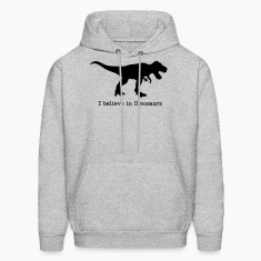 I believe in Dinosaurs Hoodies