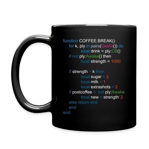 Coffee Break Code Cup - Full Color Mug