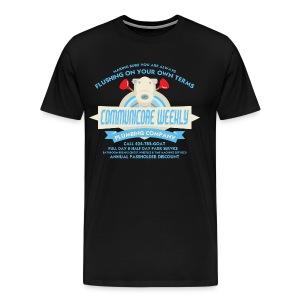 Flushing On Your Own Terms - Men's - Men's Premium T-Shirt