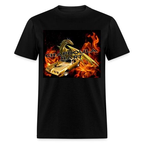 Chapdoula Hart dragon-char - T-shirt homme - T-shirt pour hommes