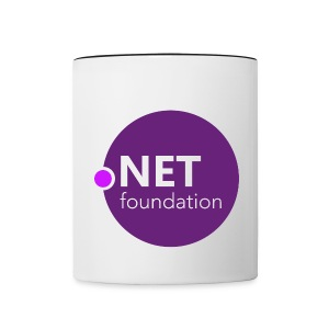 .NET Foundation Mug - Contrast Coffee Mug