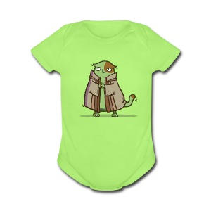 Friday Cat №2 - Short Sleeve Baby Bodysuit