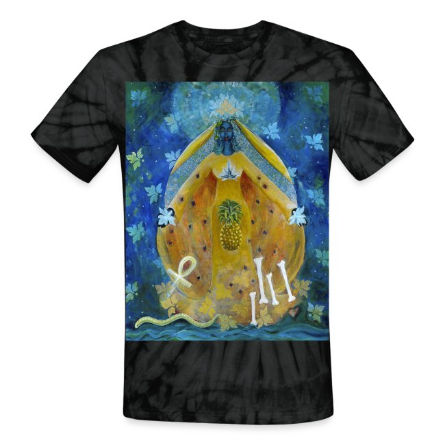The Cosmic Shakti, Men's Tie Dye T-shirt