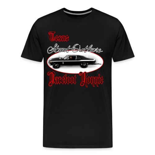 Barefoot Ronnie Black Nova  - Men's Premium T-Shirt