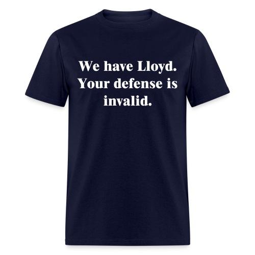 We Have Lloyd Men's Cut Tee - Men's T-Shirt
