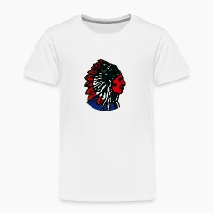 Brave Native Head Vintage Baby & Toddler Shirts