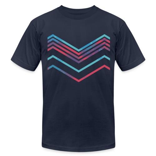 Color Path Reff T-shirt  - Men's Fine Jersey T-Shirt