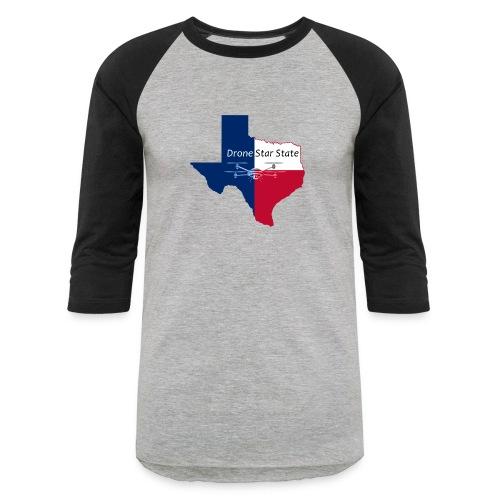 Drone Star State Baseball Shirt - Baseball T-Shirt