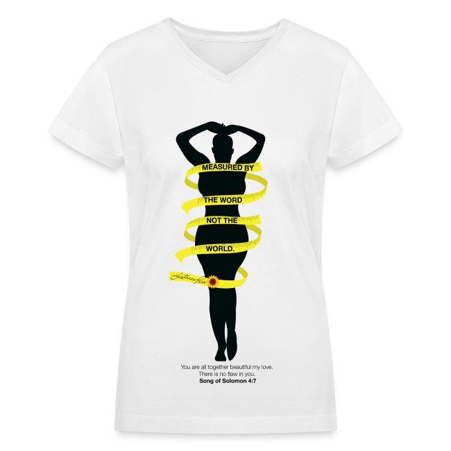 d5a186607 Treecie Tees | MBTW -black silhouette V-Neck Tee - Womens V-Neck T-Shirt